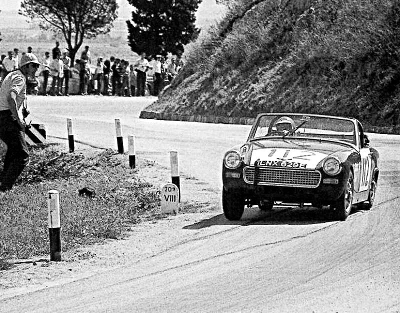 Rauno Aaltonen Austin Sprite 1968 Targa Florio - Rally Car Photo Print