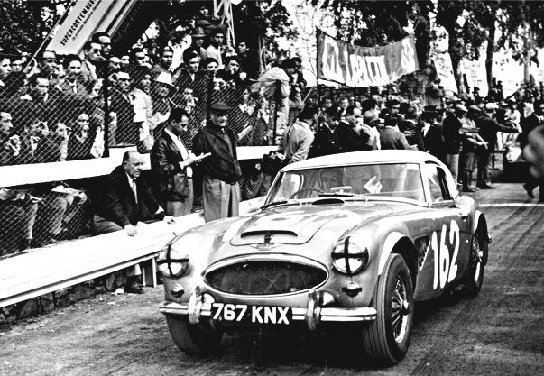 Hawkins-Makinen Works Austin Healey 3.0 1965 Targa Florio - Rally Car Photo Print