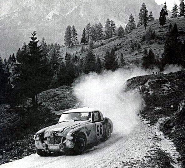 Morrison Austin Healey 3.0 at 1962 Liege-Sofia-Liege Marathon - Rally Car Photo Print