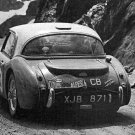 Pat Moss Austin Healey 3.0 at 1962 Coupe des Alpes - Rally Car Photo Print