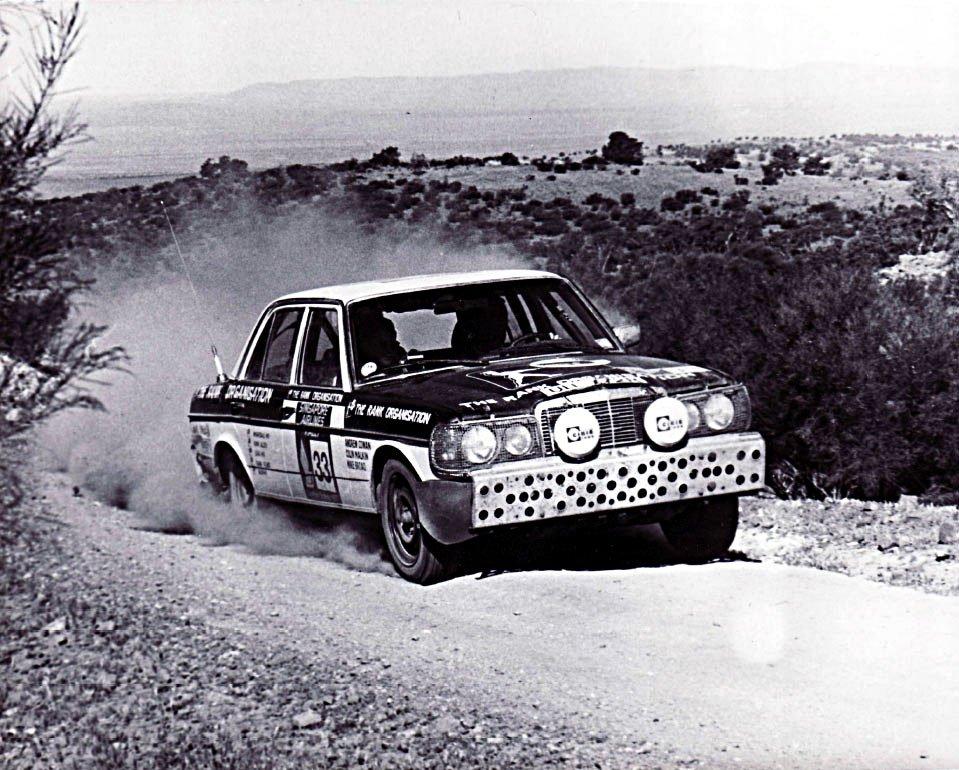 Andrew Cowan Mercedes-Benz 280E 1977 London to Sydney Marathon Winner - Rally Car Photo Print