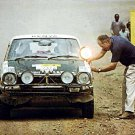 Joginder Singh Mitsubishi Colt Lancer 1976 East African Safari Rally Winner - Rally Car Photo Print