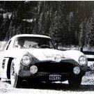 Mairesse-Gennin Mercedes-Benz 300SL 1956 Liége-Rome-Liége Marathon - Rally Car Photo Print
