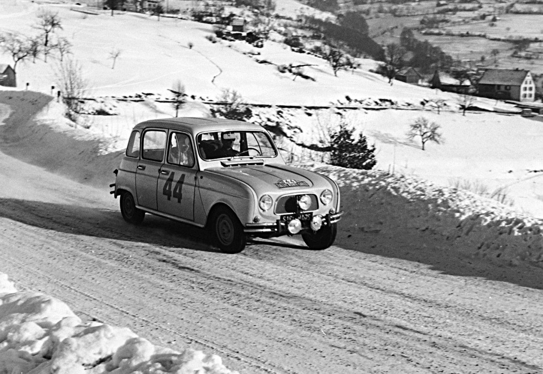 Renault 4 at 1963 Monte-Carlo - Rally Car Photo Print