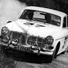 Tom Trana Volvo 122S at 1965 Acropolis Rally - Rally Car Photo Print