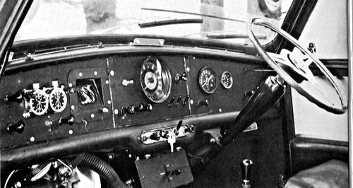 1964 Works Mini Cooper Dashboard - Rally Car Photo Print