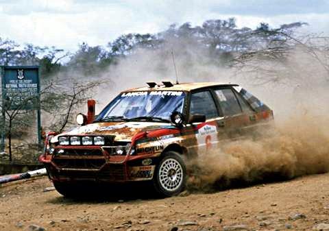 Biasion-Siviero Lancia Delta HF Integrale 1988 Safari Rally Winners #1 - Rally Car Photo Print