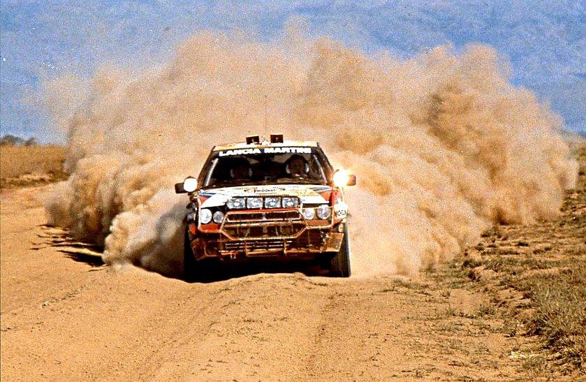 Biasion-Siviero Lancia Delta HF Integrale 1988 Safari Rally Winners #2 - Rally Car Photo Print