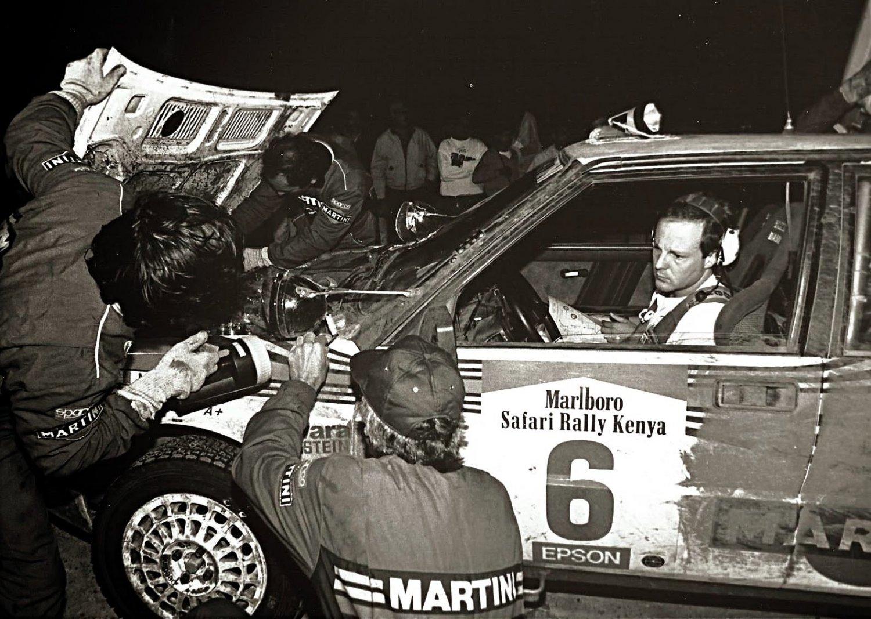 Biasion-Siviero Lancia Delta HF Integrale 1988 Safari  Rally Winners #3 - Rally Car Photo Print