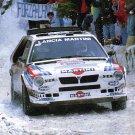 Henri Toivonen Lancia delta S4 1986 Monte-Carlo Rally - Rally Car Photo Print