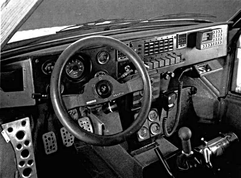 lancia Delta S4 Cockpit - Rally Car Photo Print