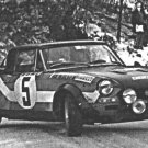 R. Pinto Fiat 124 Abarth Rallye du Monte-Carlo 1973 - Rally Car Photo Print