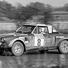Rauno Aaltonen Fiat 124 Abarth Lombard R.A.C. Rally 1974 - Rally Car Photo Print