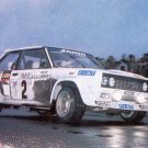 Jean-Claude Andruet Fiat 131 Abarth 1977 Monte-Carlo Rally - Rally Car Photo Print