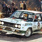 Bernard Darniche Fiat 131 Abarth 1978 Monte-Carlo Rally - Rally Car Photo Print