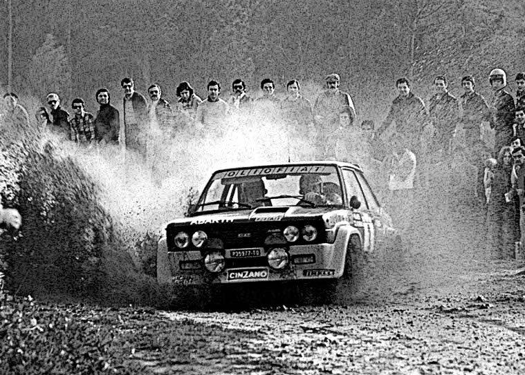 Markku Alen Fiat 131 Abarth 1977 Portugal Rally Winner - Rally Car Photo Print