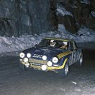 Roberto Cambiaghi Fiat 124 Abarth 1976 Monte-Carlo Rally - Rally Car Photo Print