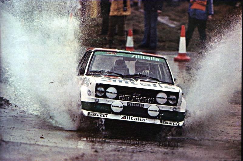 Walter Rohrl Fiat 131 Abarth 1978 Lombard R.A.C. Rally - Rally Car Photo Print
