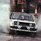 Walter Rohrl Fiat 131 Abarth 1978 Lombard R.A.C. Rally - Rally Car Photo Print
