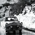 a Ford Zephir at 1960 Rallye du Monte-Carlo- Rally Car Photo Print