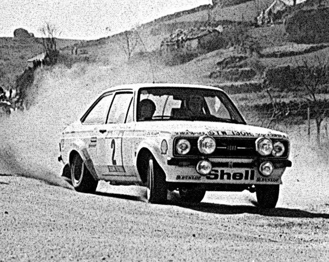Bjorn Waldegard Ford Escort RS1800 Rallye du Portugal 1977 - Rally Car Photo Print