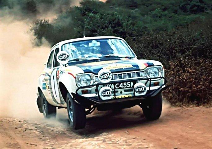 Hannu Mikkola Ford Escort RS 1972 Safari Rally - Rally Car Photo Print