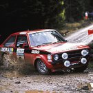 Roger Clark Ford Escort RS 1800 at 1975 R.A.C. - Rally Car Photo Print