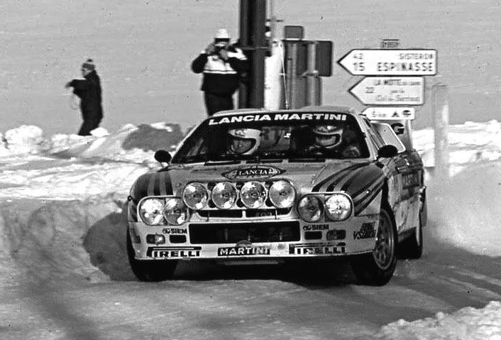 Markku Alen Lancia 037 1984 Monte-Carlo Rally - Rally Car Photo Print
