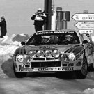 Markku Alen Lancia 037 1984 Monte-Carlo Rally - Rally Car Photo Print