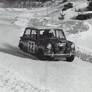 Aaltonen-Ambrose Mini Cooper S 1965 Swedish Rally - Rally Car Photo Print