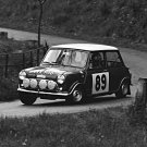 Aaltonen-Liddon Mini Cooper S 1966 Tulip Rally  - Rally Car Photo Print