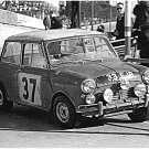 Paddy Hopkirk Mini Cooper S 1964 Monte-Carlo Winner #7 - Rally Car Photo Print