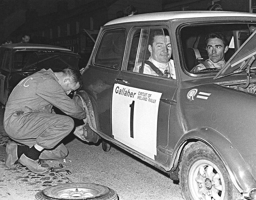 Hopkirk-Harryman Mini Cooper S 1967 Circuit of Ireland - Rally Car Photo Print