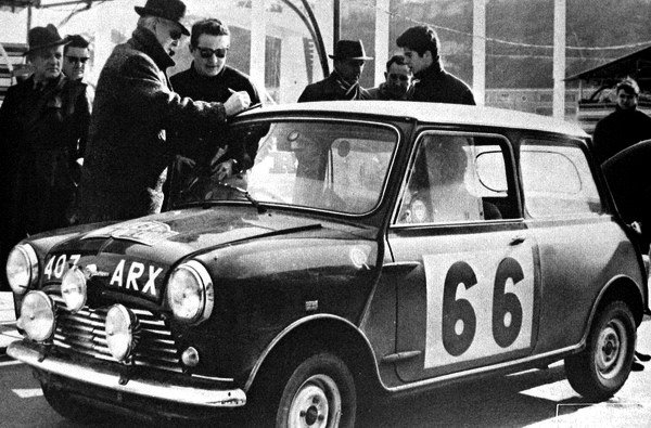 Hopkirk-Scott Mini Cooper S 1963 Monte-Carlo Rally - Rally Car Photo Print