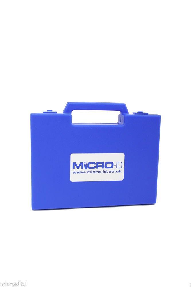 AWARD WINNING MICROCHIP SCANNER (BLUE) + TEST CHIP READS 15 & 10 DIGIT CHIPS