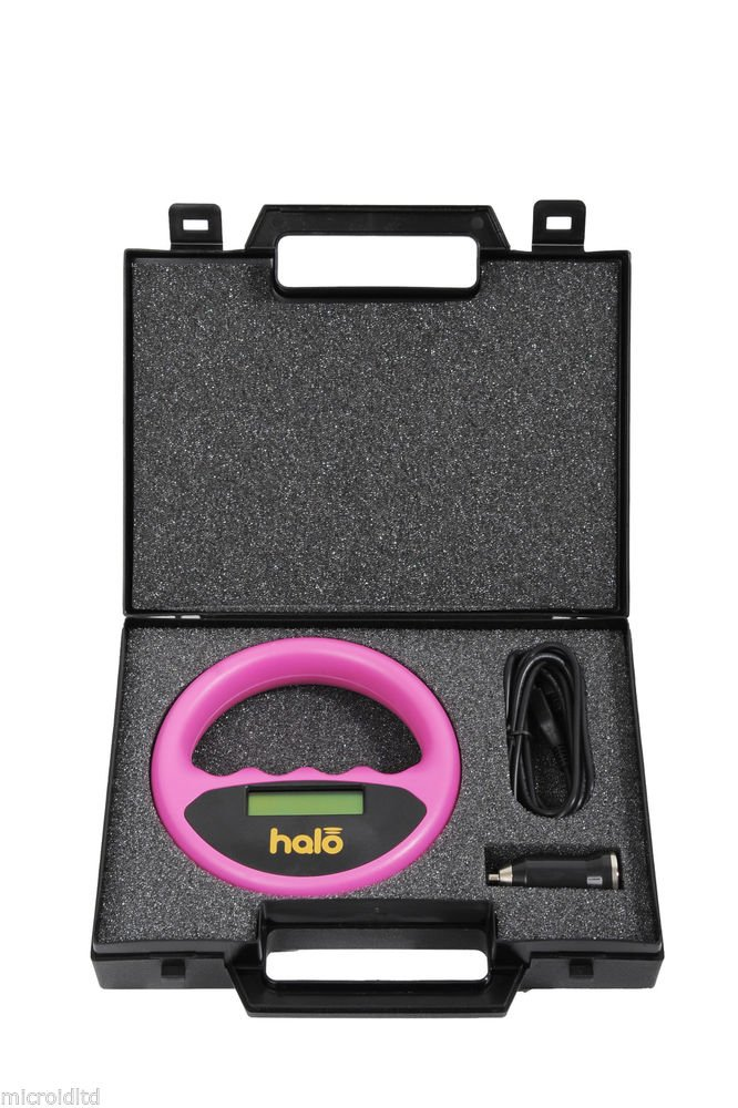 HALO AWARD WINNING MICROCHIP SCANNER (PINK) WITH TEST CHIP MID06