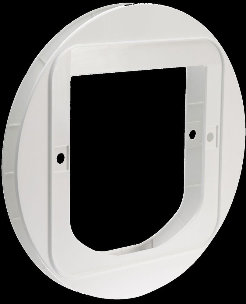 SUREFLAP Pet Door Glass or Wall Mounting Adaptor - White