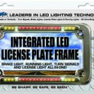 StreetFX Integrated LED License Plate Frame