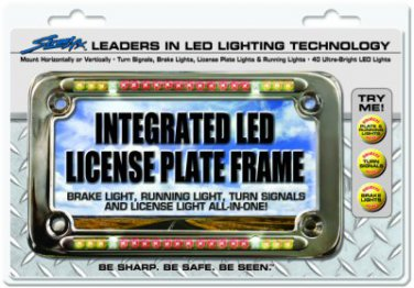 StreetFX Integrated LED License Plate Frame