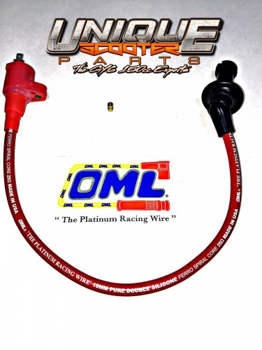 OML Ignition Coil GY6 50cc 150cc (RED) on