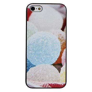 Free Shipping Colorful Ball Aluminium Plastic Hard Back Cover Case for iPhone 4/4S