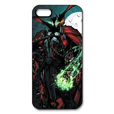 Free Shipping Cool Spawn Aluminium Plastic Hard Back Cover Case for iPhone 4/4S