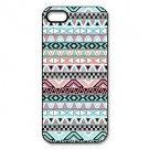 Free Shipping Girly Floral Tribal Andes Aztec Aluminium Plastic Hard Back Cover Case for iPhone 4/4S