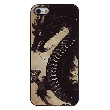 Free Shipping Fierce Dragon Aluminium Plastic Hard Back Cover Case for iPhone 4/4S