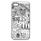 Free Shipping Popular Band The Beatles Aluminium Plastic Hard Back Cover Case for iPhone 4/4S
