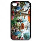 Free Shipping Alice in Wonderland Plastic Hard Back Cover Case for iPhone 4/4S