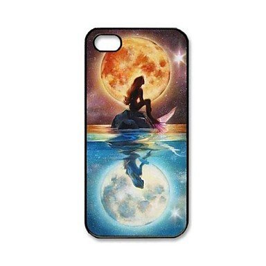 Free Shipping Mermaid Pattern Hard Back Cover Case for iPhone 4/4S
