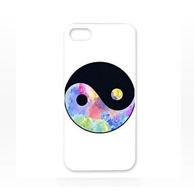 Free Shipping Mysterious Yin and Yang Hard Back Cover Case for iPhone 4/4S