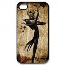 Free Shipping Nightmare Before Christmas Jack Skellington Hard Back Cover Case for iPhone 4/4S