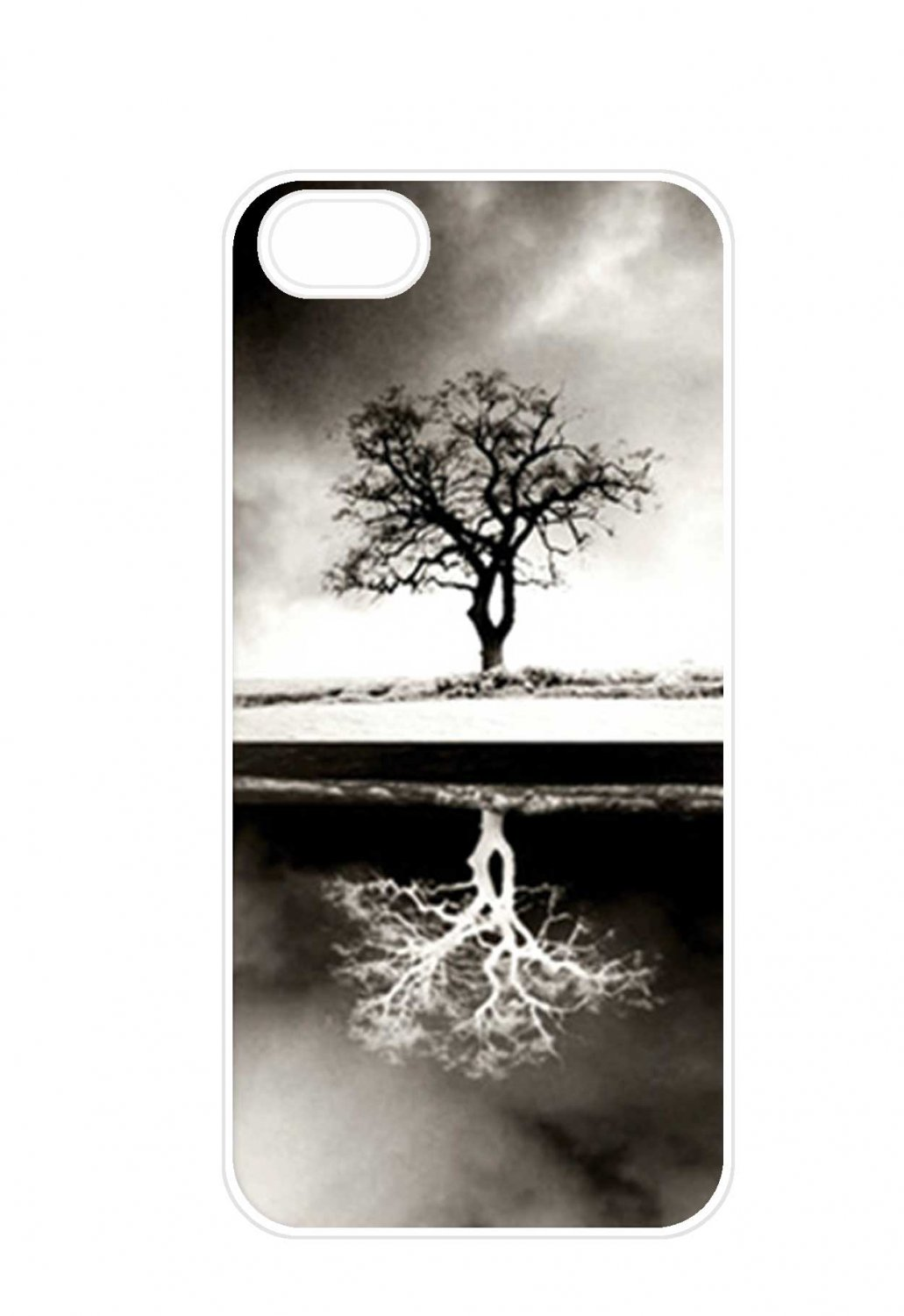 Reflection of the tree Aluminium Plastic Hard Back Case for iPhone 4/4S